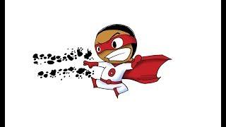 Bryan Kilgore İle Karikatür çizim - bj v5 Süper Kahraman