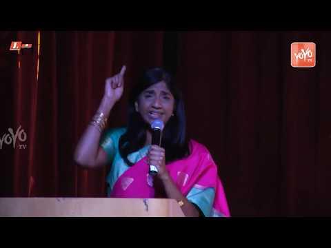 Dr. Aruna Millar Excellent Speech About Women's   Women Empowerment Telugu Association Launch YOYOTV