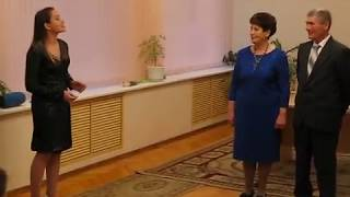Свадебные юбилеи большой семьи в Узловском отделе ЗАГС