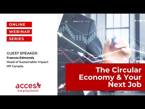 The Circular Economy & your next job