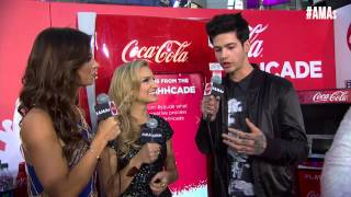T. Mills Red Carpet Interview - AMAs 2014