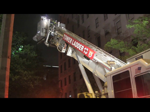  FDNY [ 10-75-All Hands Fire ]   Fire on the 5th floor; 2 East 80 St.;Box 1097