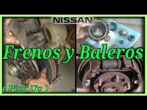 Frenos y Baleros Nissan Pick up