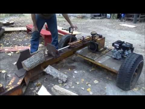 Restoring An Old Rusty Gas Powered Log Splitter O4