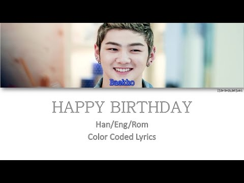 NU'EST (뉴이스트) - HAPPY BIRTHDAY (생일 축하해요) [Color Coded Han|Rom|Eng]