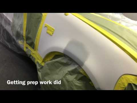 Doing Automotive Car Paint/Spray on 2003 Ford F-15