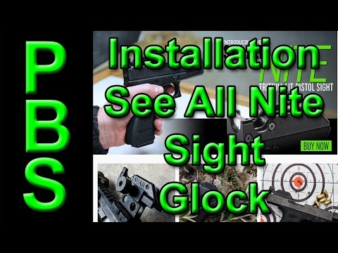 See All Open Site Glock Installation Instructions Update