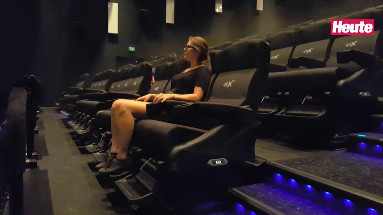 österreichs Erstes 4d Kino Im Heute Härtetest Youtube