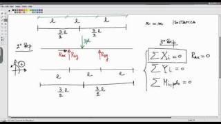 nicola passaro statica determinazione delle reazioni vincolari