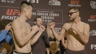 Fight Night Denver: Weigh-in Faceoffs