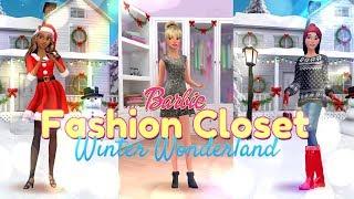 Barbie Fashion Closet: Winter Wonderland ALL NEW Holiday Update
