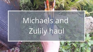 Michaels haul | Zulily haul | craft supply haul