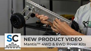 ServoCity Products: Mantis™ 4WD & 6WD Rover Kits