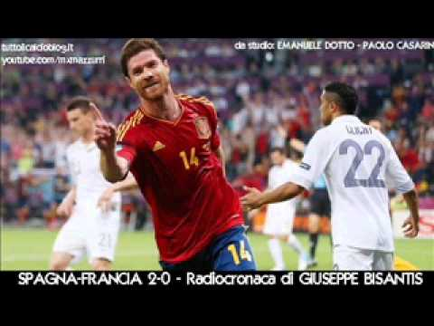 SPAGNA-FRANCIA 2-0 – Radiocronaca di Giuseppe Bisantis – EURO 2012 su Radiouno RAI