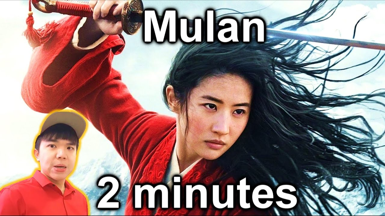 What's Wrong with Disney Mulan in 2 minutes? 经历重重难关的《花木兰》竟然...