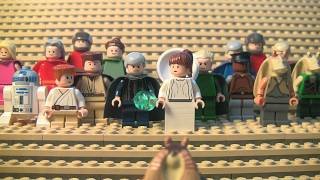 The Fastest and Funniest LEGO Star Wars story ever told...The Prequel!
