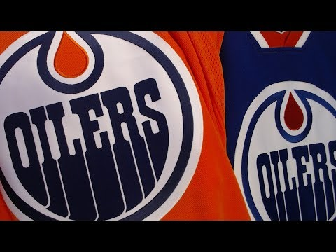 Oilers Unveil Blue Third Jersey