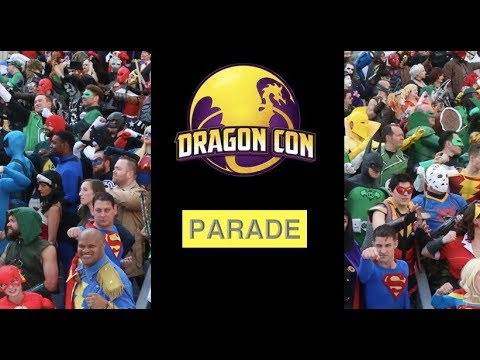 Dragon Con 2018 Parade Highlights | HBB Reviews @DragonCon2018