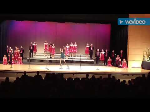 Thurmont middle school spirit show choir February 17th 2018 competition