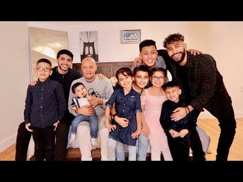 THE ADAM'S FAMILY NEW INTRO VIDEO!!!!!!