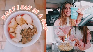 what i eat in a day! (as a type 1 diabetic)