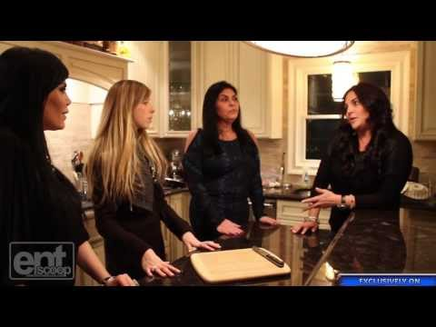 Make The Mob Wives Show us How to Work the Kitchen! Snapshots