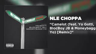 NLE Choppa - Camelot (feat. Yo Gotti, BlocBoy JB & Moneybagg Yo) [Remix] [Official Audio]