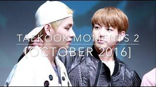 taekook moments 2 october 2016