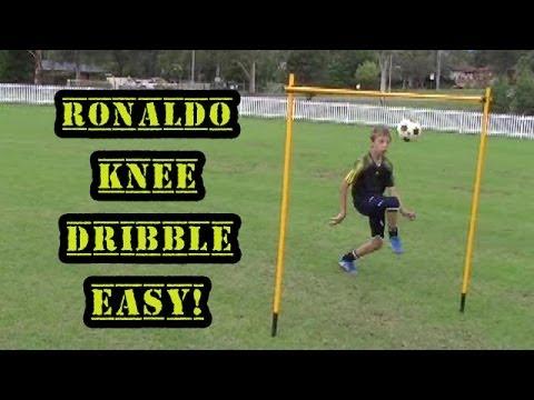 Soccer Drills - Ronaldo Knee Dribble
