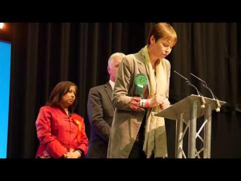 Caroline Lucas MP, General Election 2015