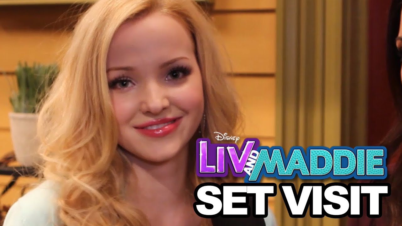 On Set Of Liv Maddie With Dove Cameron Joey Bragg More Youtube
