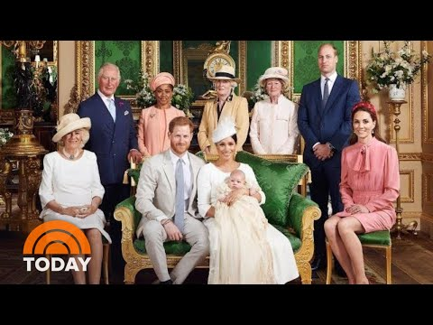 See Pics From Baby Archie's Royal Christening   TODAY