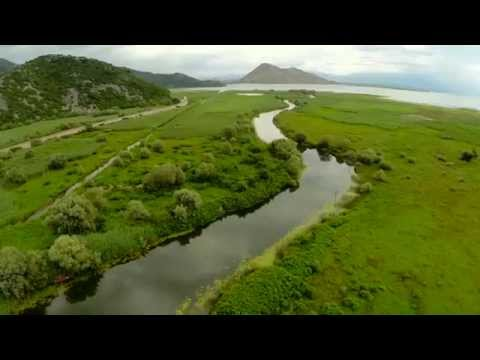 Montenegro Skadar Lake Air video DJI zenmuse h3 2d go pro3+