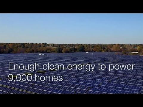 Lapeer, Michigan Solar Array: Largest East of the Mississippi