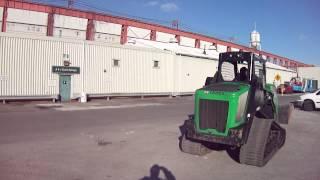 2011 Terex PT70 Skid Steer Track Loader HIGH FLOW only 1386 hours backhoe