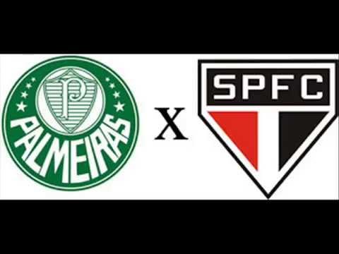 Palmeiras 3 x 3 São Paulo Camp Paulista de 1948 narração de Pedro Luiz