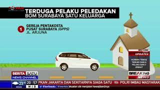 Pembagian Tugas Pelaku Bom Surabaya