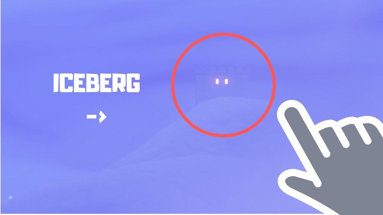 Going To The Iceberg Fortnite Battle Royale Youtube