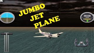Jumbo Jet Flight Simulation Level 1-5 Mobile Game