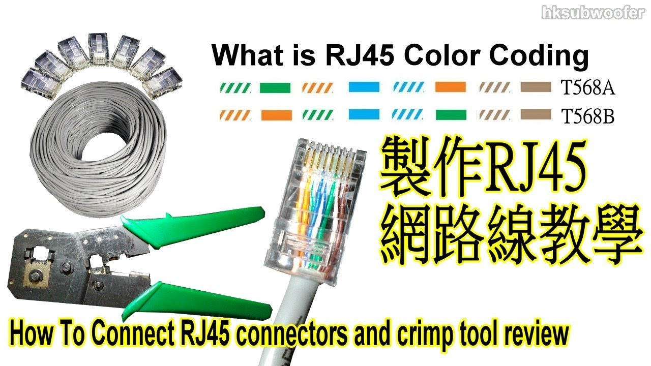 rj45 crimping tool youtube  vcom cable crimping tools for