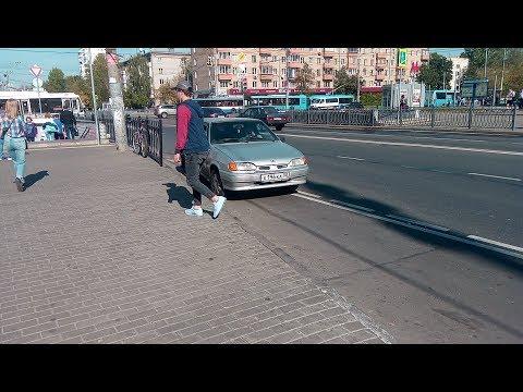 Беспредел бомбил у метро Перово VID 20180921 120544