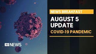Coronavirus update 5 August - Melbourne's last day before business lockdown | News Breakfast