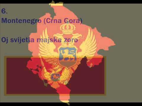 National Anthems Of All Balkan Countries
