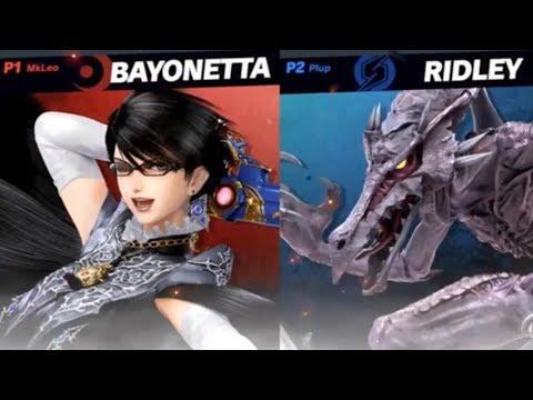 Super Smash Bros Ultimate - Invitational 2018 - Plup vs MkLeo. Bayonetta is still broken.