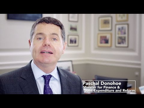 Minister Paschal Donohoe - August 2017
