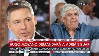 Hugo Moyano demandará a Adrián Suar