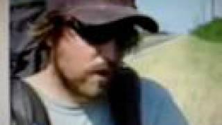 Cross country cancer walk...Matt Gregory.
