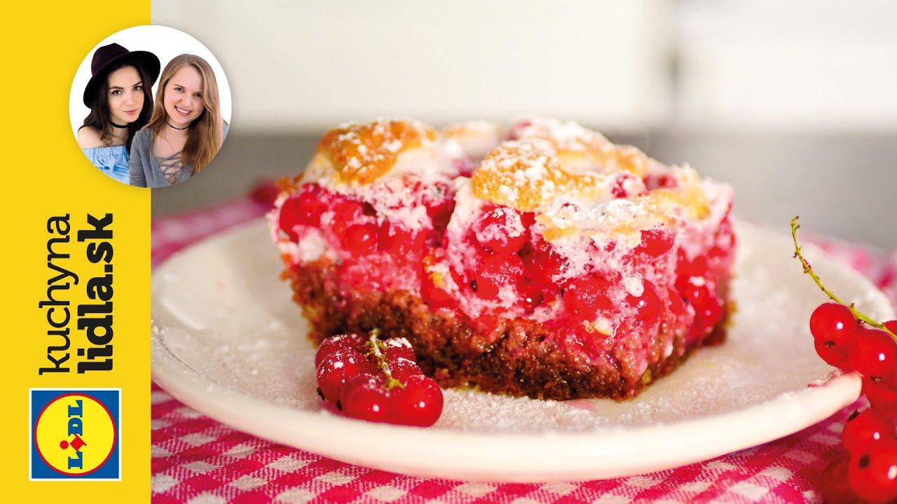 Ríbezľový koláč 🥧   Beautifood   Kuchyňa Lidla