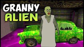 Granny Alien Bann Gai - GRANNY ALIEN MODE ( Free Android Game ) Horror Game