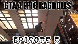 GTA 4 EPIC RAGDOLLS EPISODE 5 [epic fails] [funny moments]